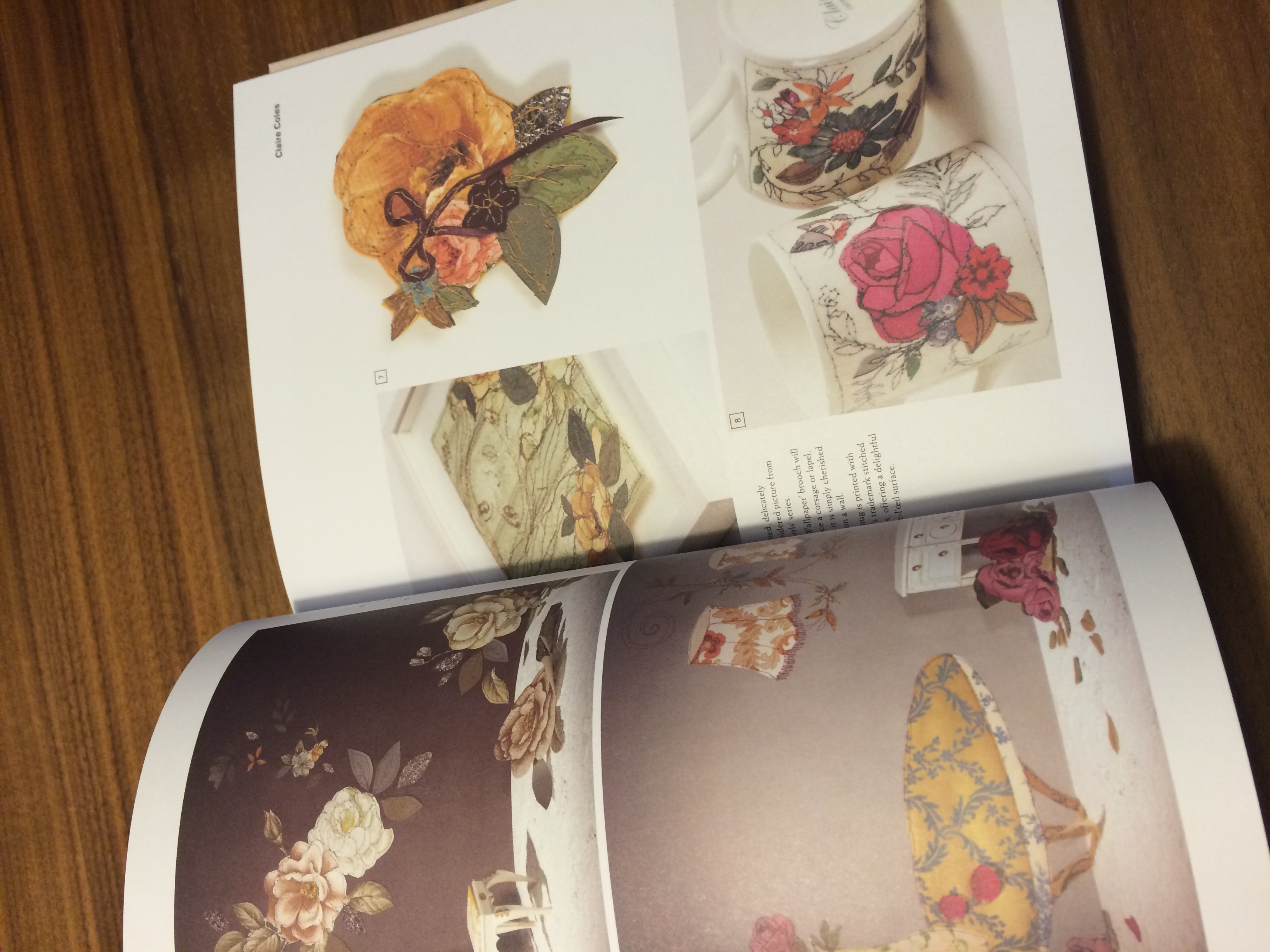 A page from The New Artisans book