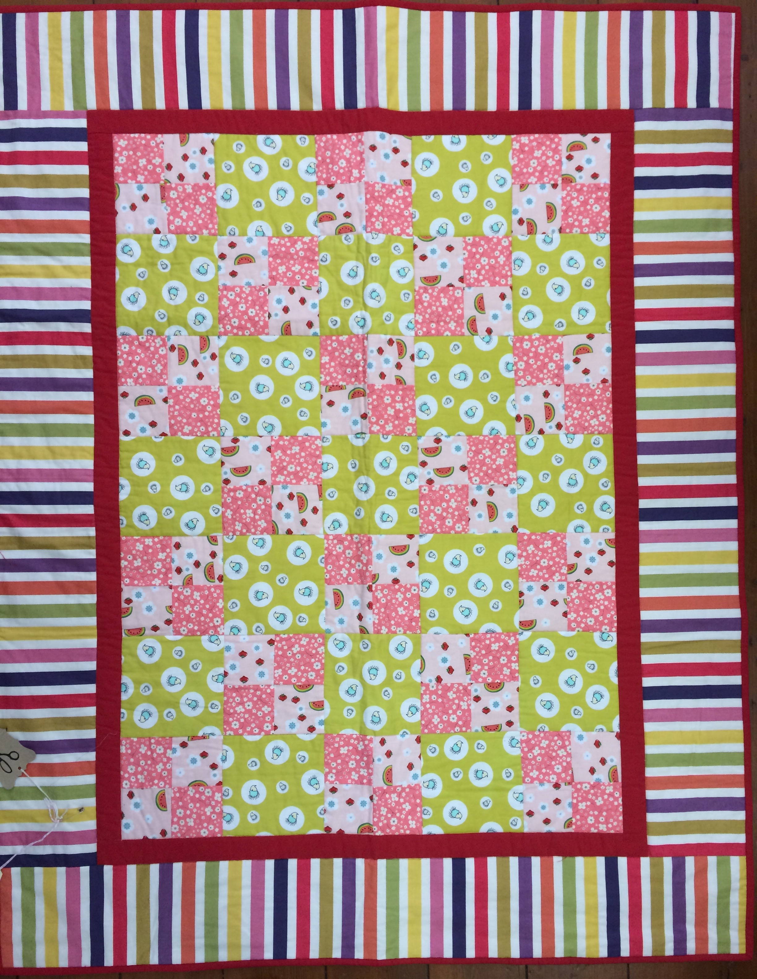 Hettie's Patch pattern, 'Four Patch Quilt'