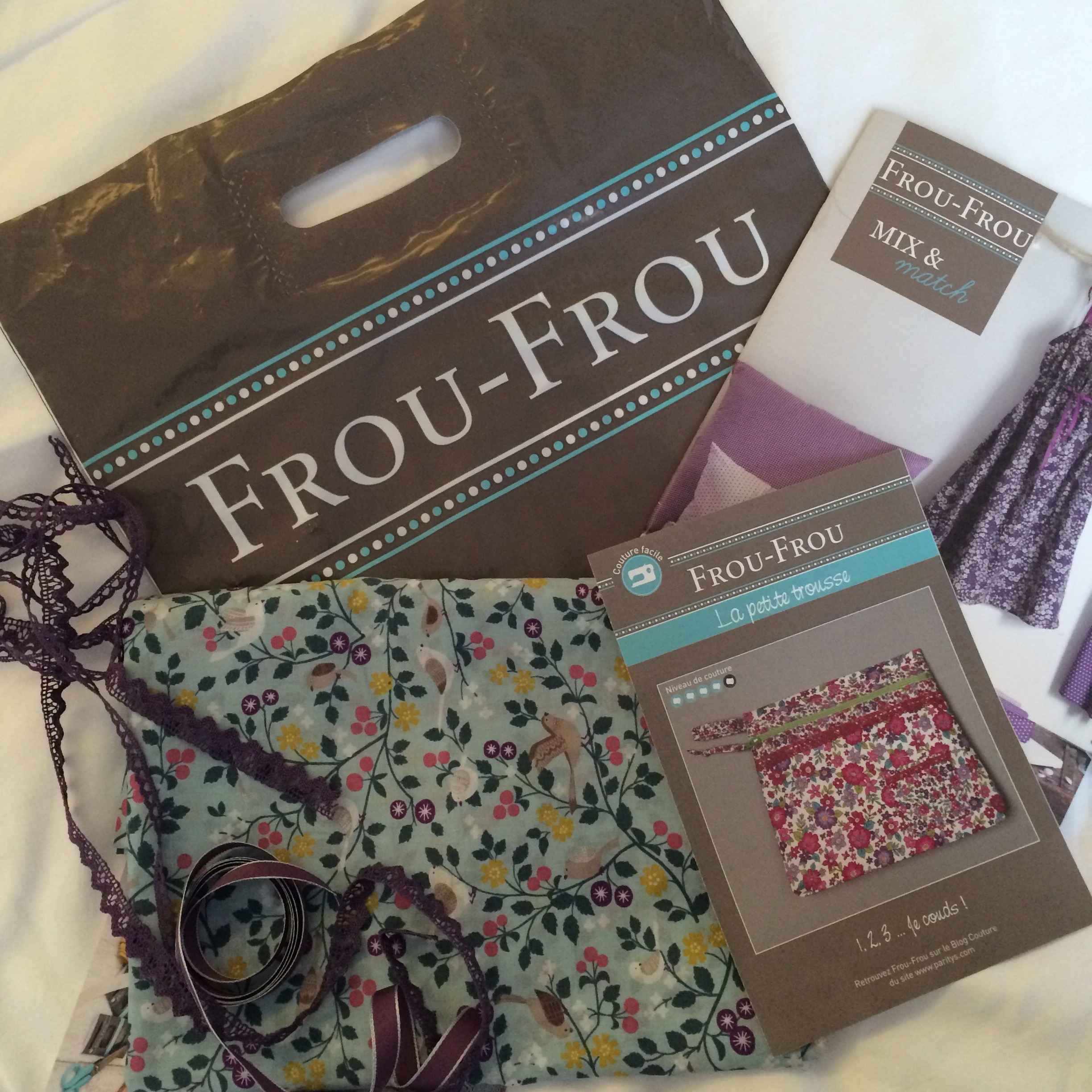 A small purchase from Frou-Frou