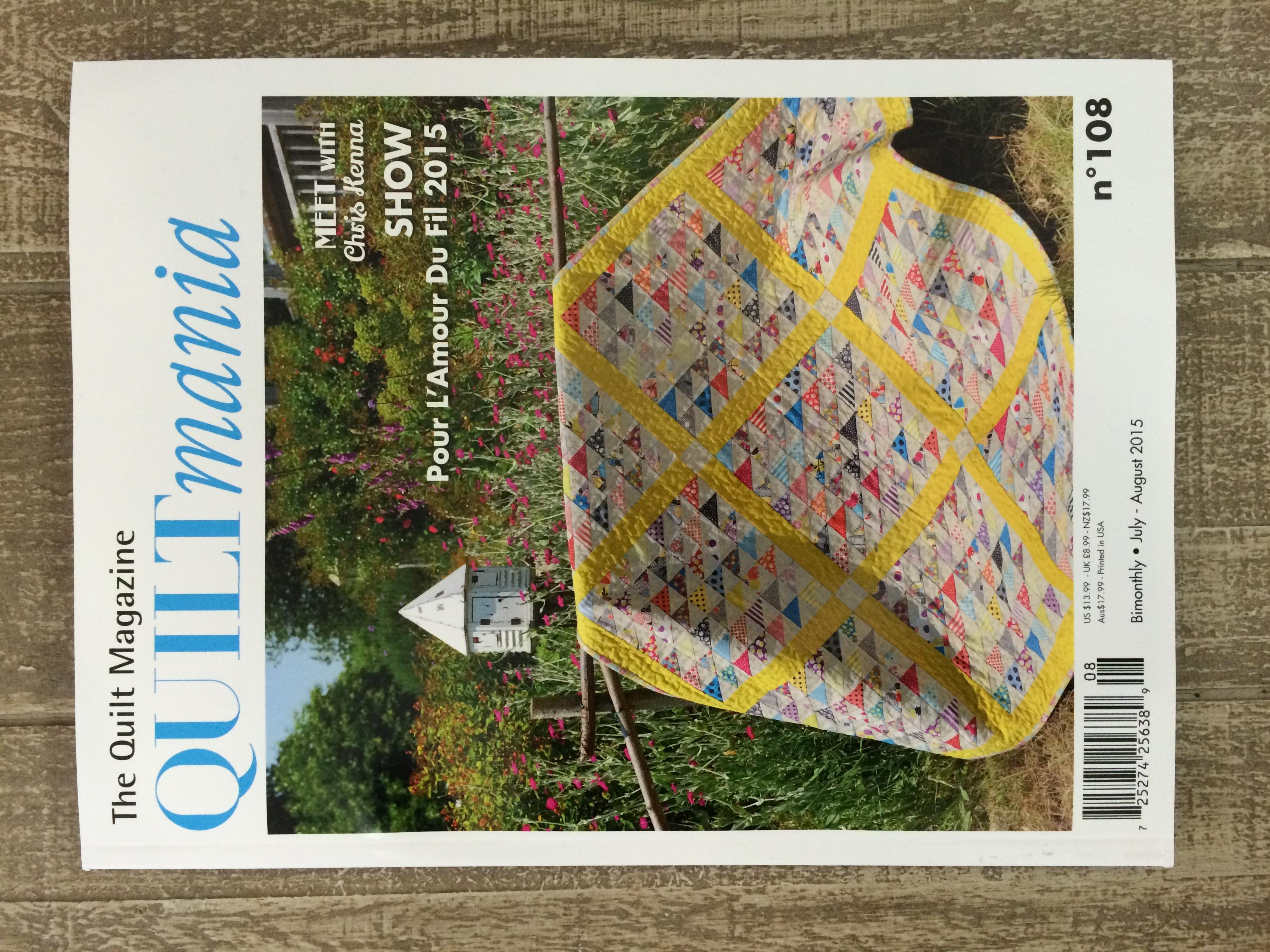 quiltmania magazine