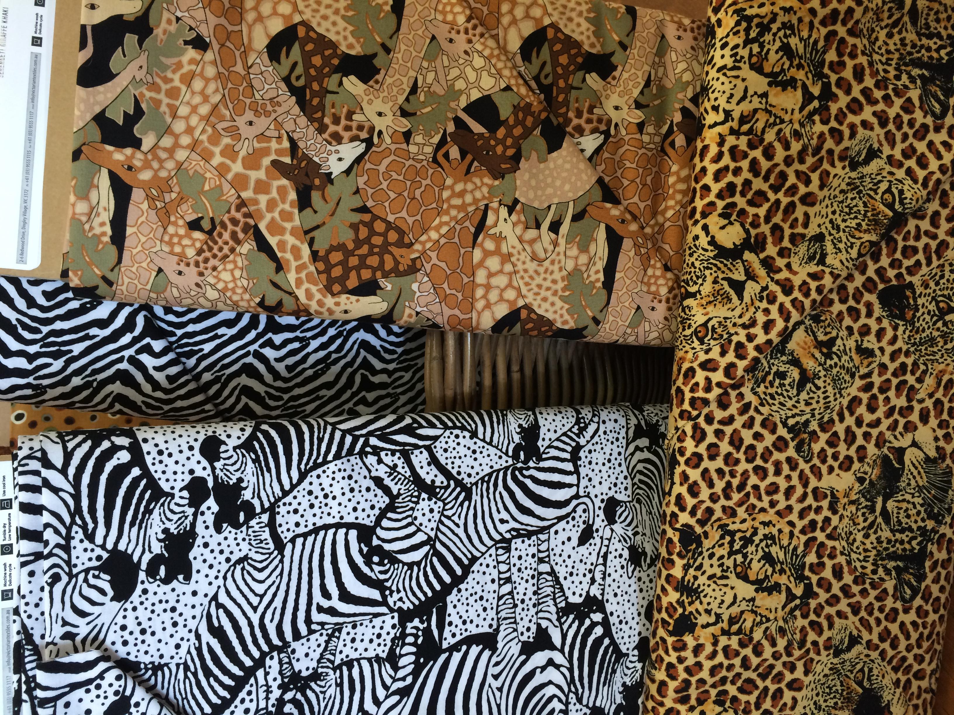 serengeti prints