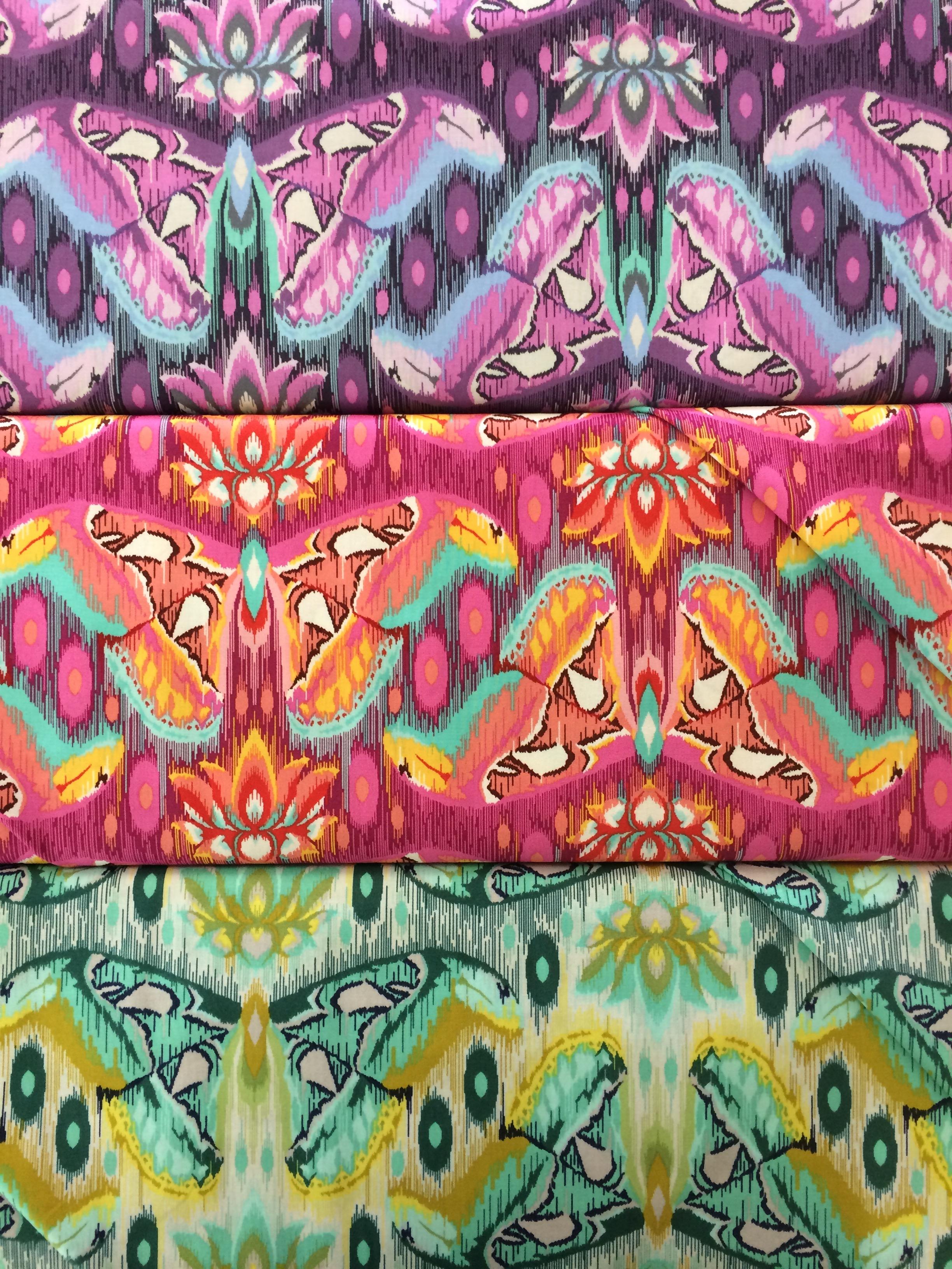 tula pink butterflies