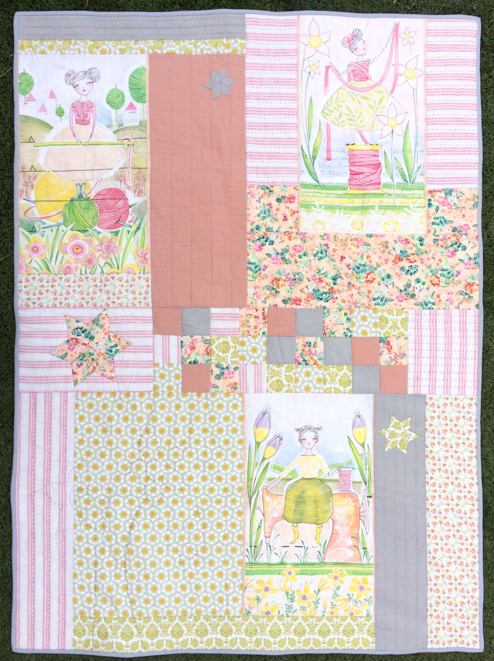 'Spring Whimsy' by Hettie's Patch