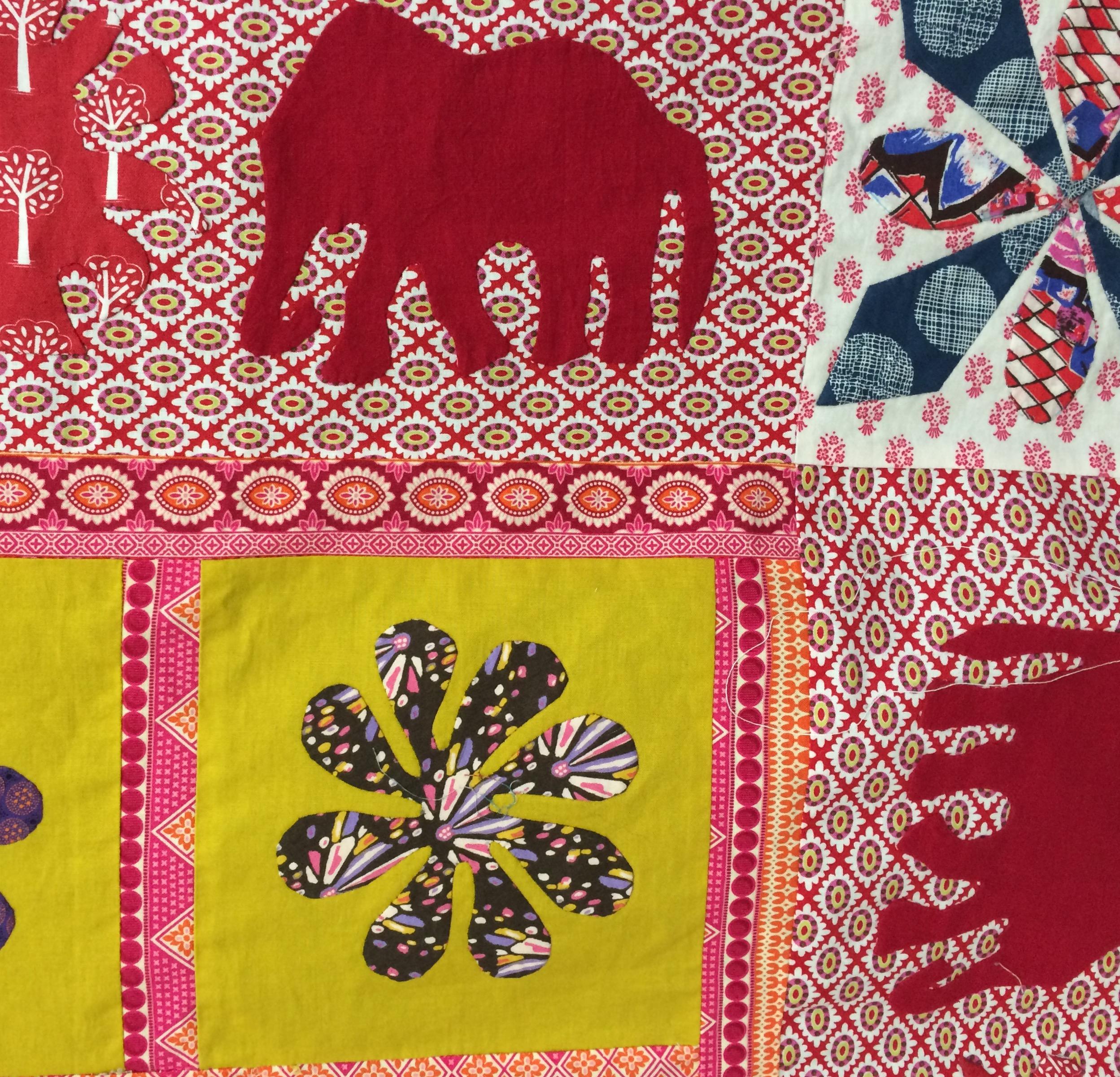 msg elephant quilt