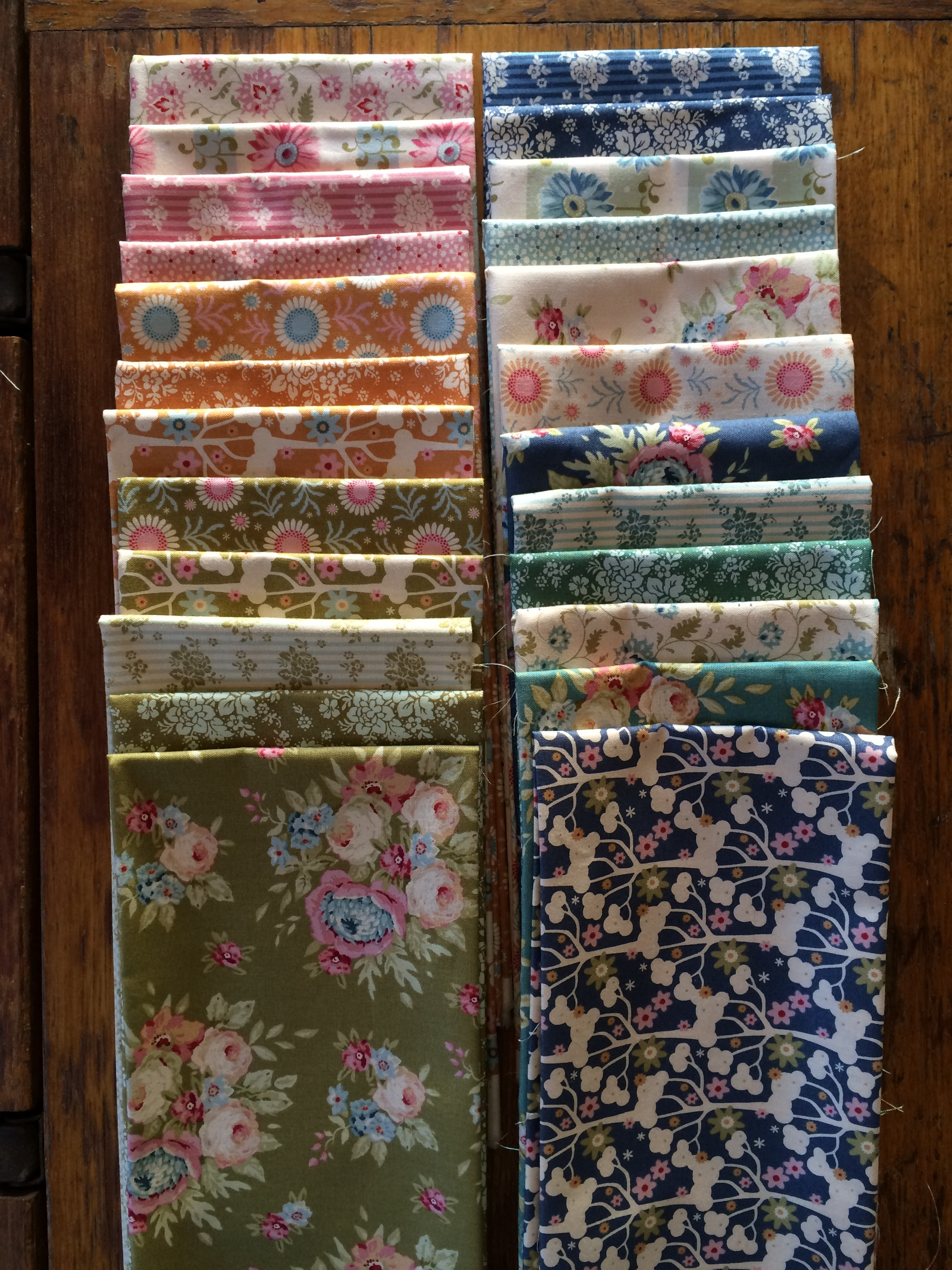 Tilda fat quarter pack from Spring Diaries & Pardon My Garden