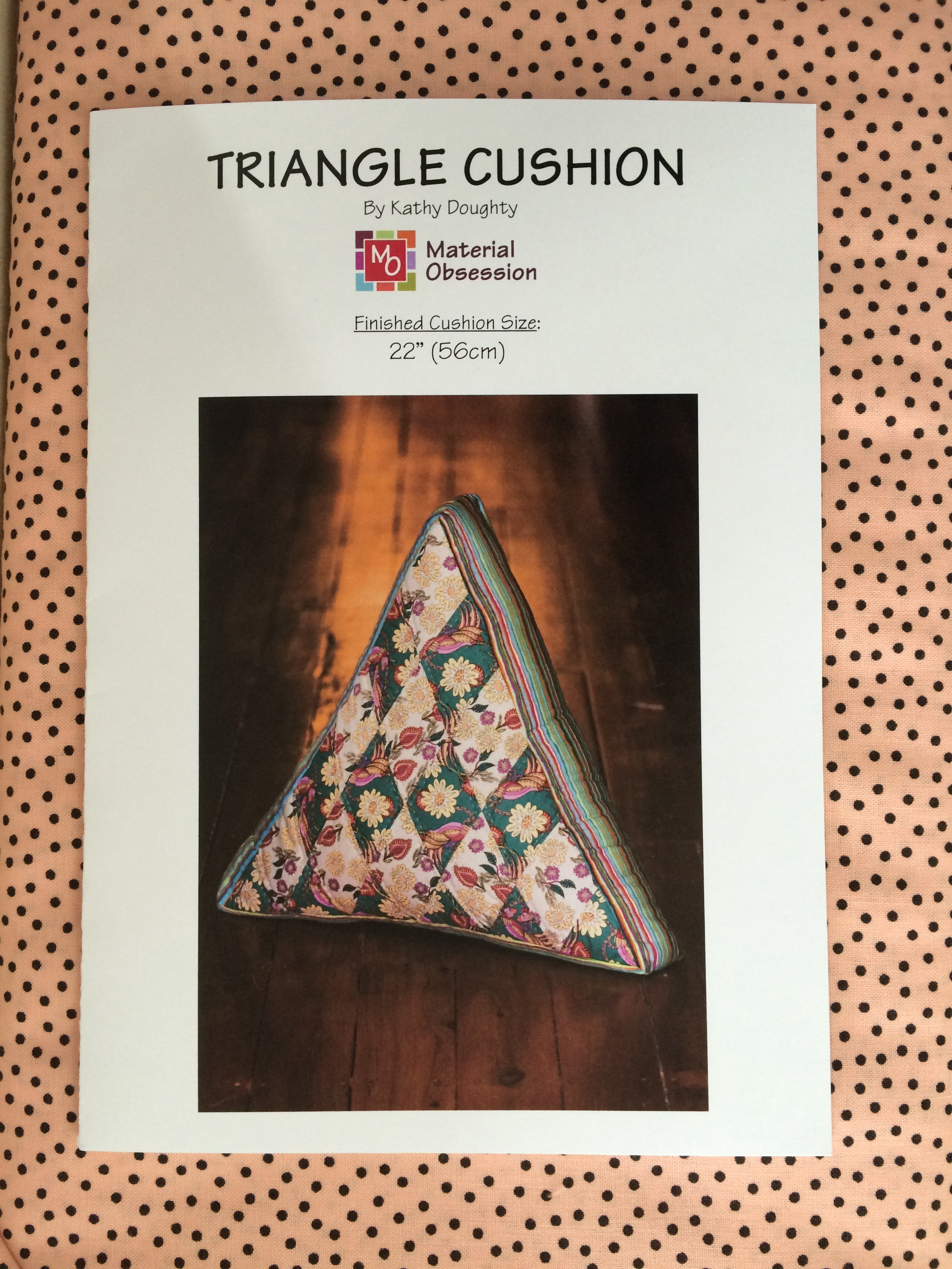 The Triangle Cushion pattern