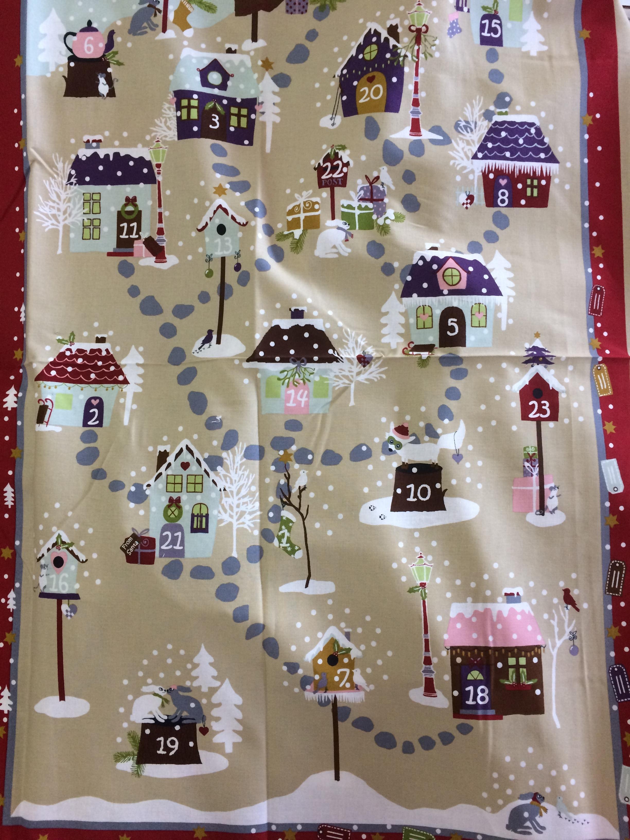 Snow Village Calendar