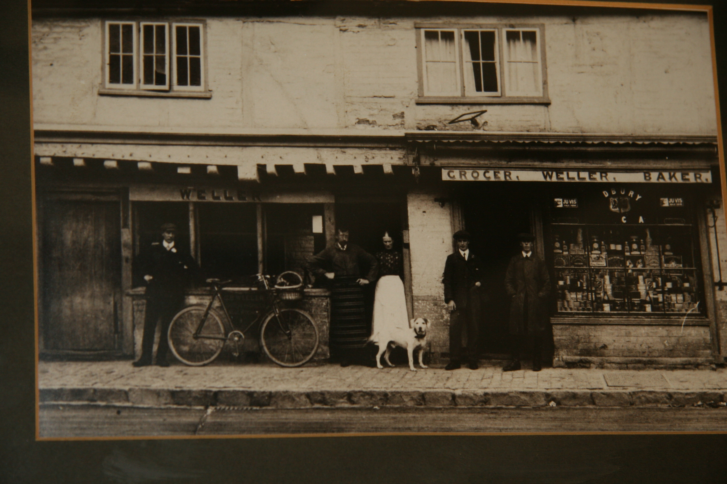 Fabulous Shop Front Photograph Of The Shop In Years Gone By.
