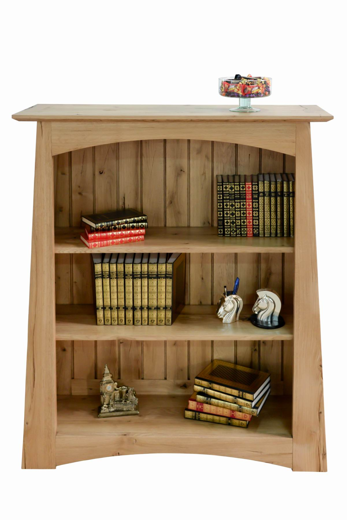 Low Arts & Crafts Bookcase HRV001