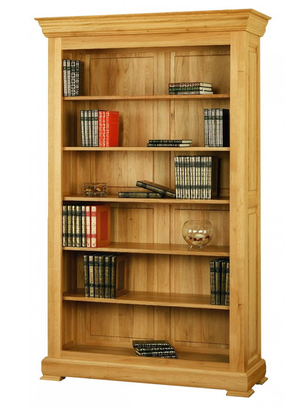 Wide Open fronted Bookcase 511290