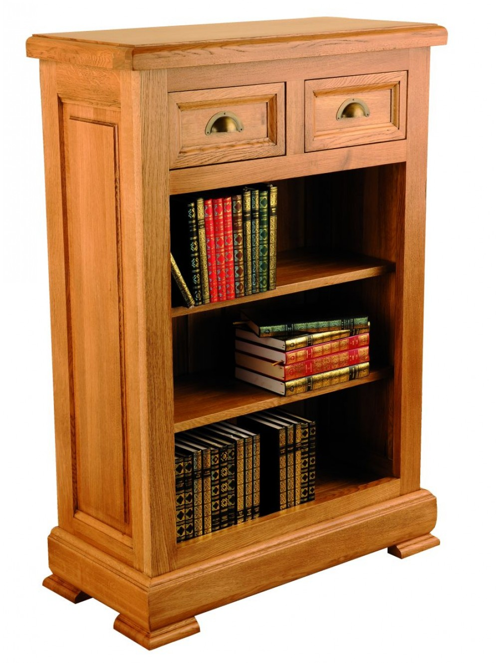 Low Bookcase with 2 Drawers 511330