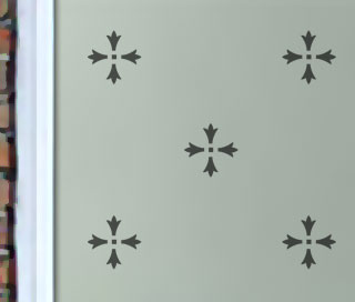 Repeat Pattern 020 – Etched Glass Windows