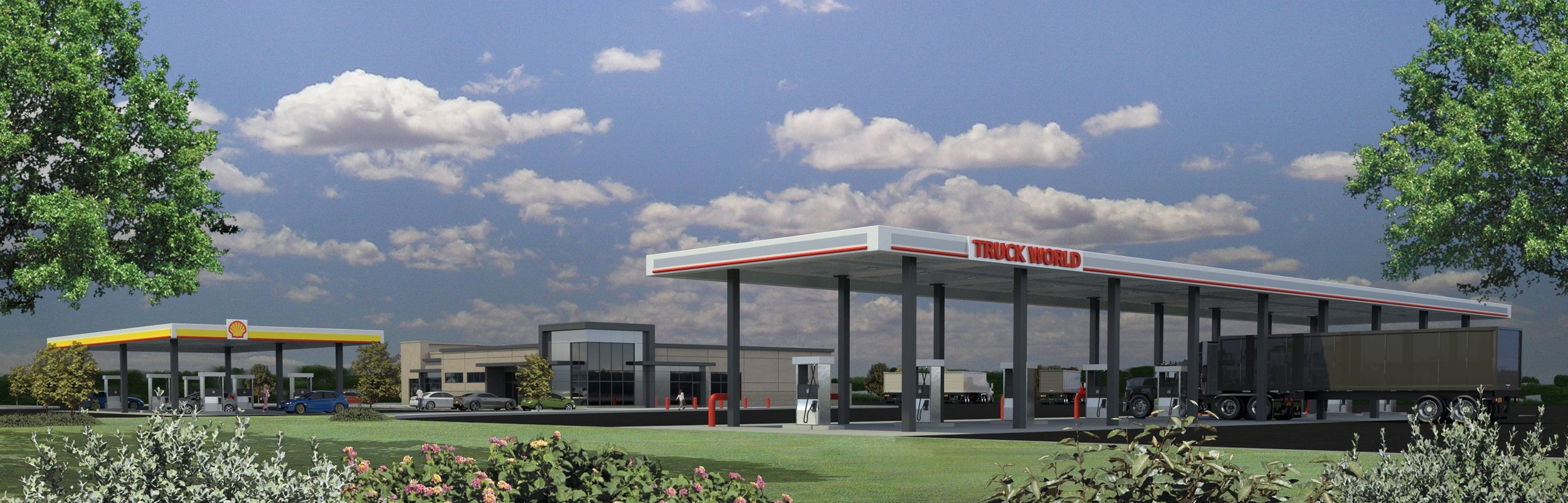 Visit our newest travel plaza and Shell station in North Jackson, OH at I-76 & Bailey Road   12700 Leonard Parkway,North Jackson, Ohio 44451   Onsite Amenities:  Diesel, Shell Gas, DEF,Burger King, showers, convenience store,beer and wine, WIFI, certified truck scale.  Telephone: 330.538.7030 Fax: 330.538.7173
