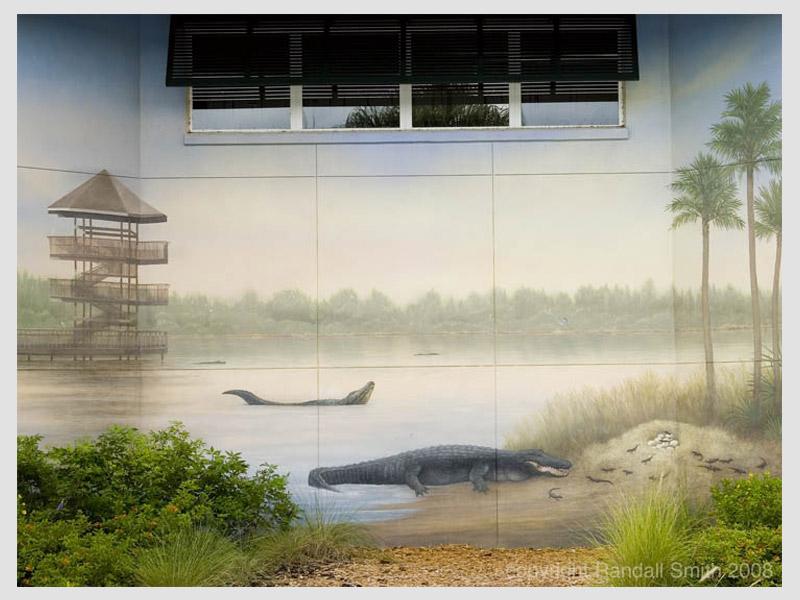 Gatorland Rookery Mural