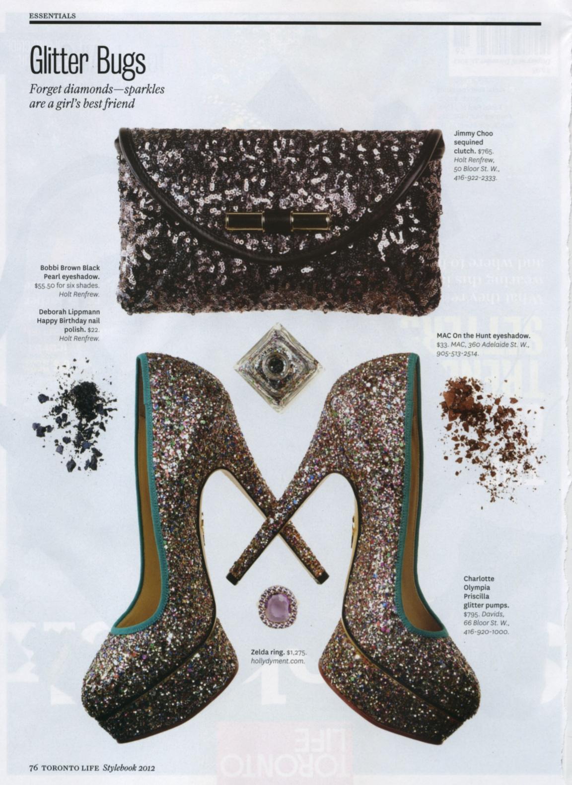 Zelda Ring.   Sliced Amethyst, Pink sapphires, set in 14K yellow gold.