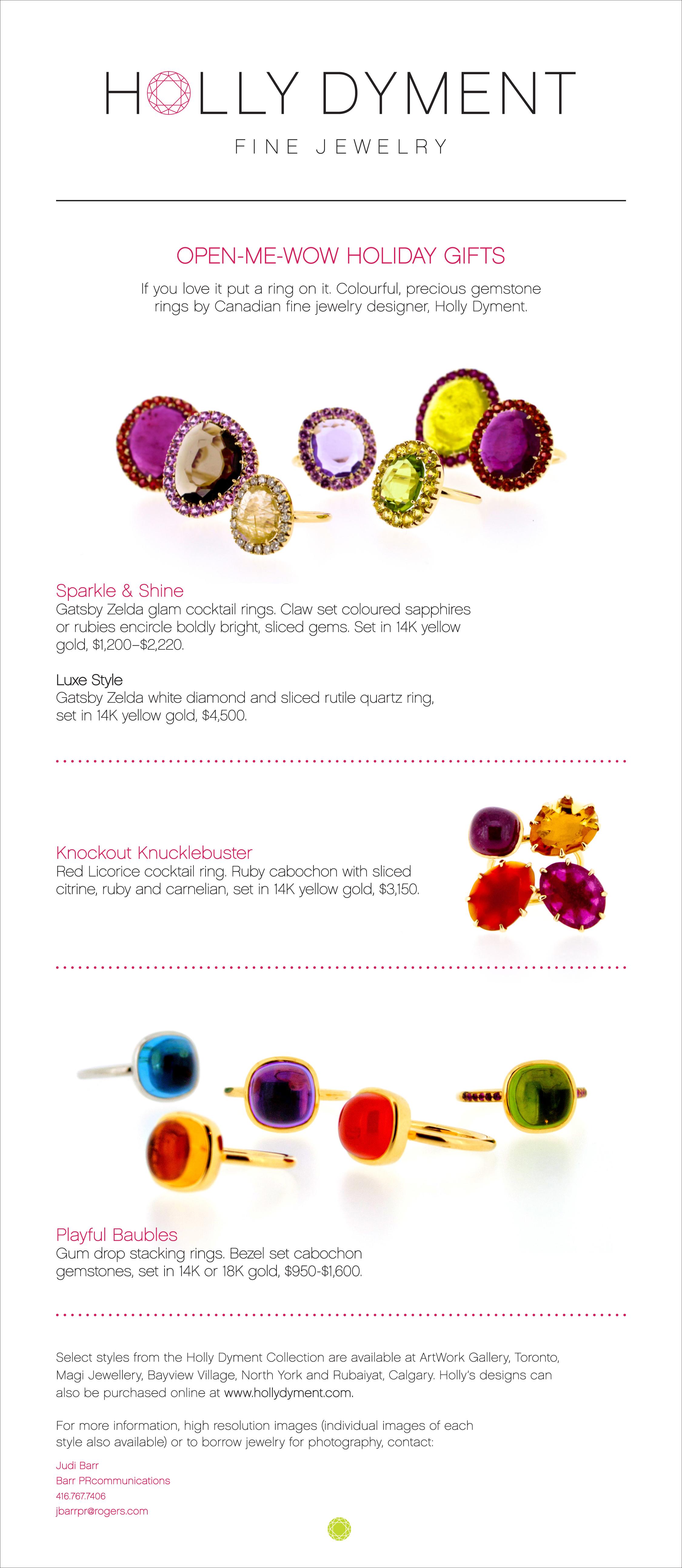 Holiday Season! — Holly Dyment Fine Jewelry