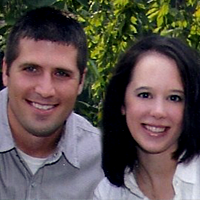 Kim and Bryant Miller are collaborators on life and ministry. Married in 2006, they are both clergy in the United Methodist Church, both educated at Asbury Theological Seminary, and both devoted to a life in ministry spent side-by-side. Currently, they serve a local church in Northwest Ohio, have a two-year old named Max and a baby girl on the way. Their personalities are almost entirely opposite each other, which makes their conversations very interesting and their blogging collaborations a conglomeration of hard-line logic and flighty creativity. While the words on the page may be Kim's doing, the voice sitting across from her on the couch is weaved through each project.