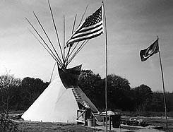 Native American Church Marine Corp Birthday Meeting. copyright Tom Fields
