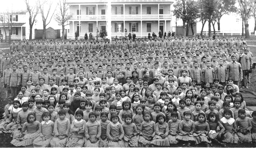 Carlisle Indian School 1885