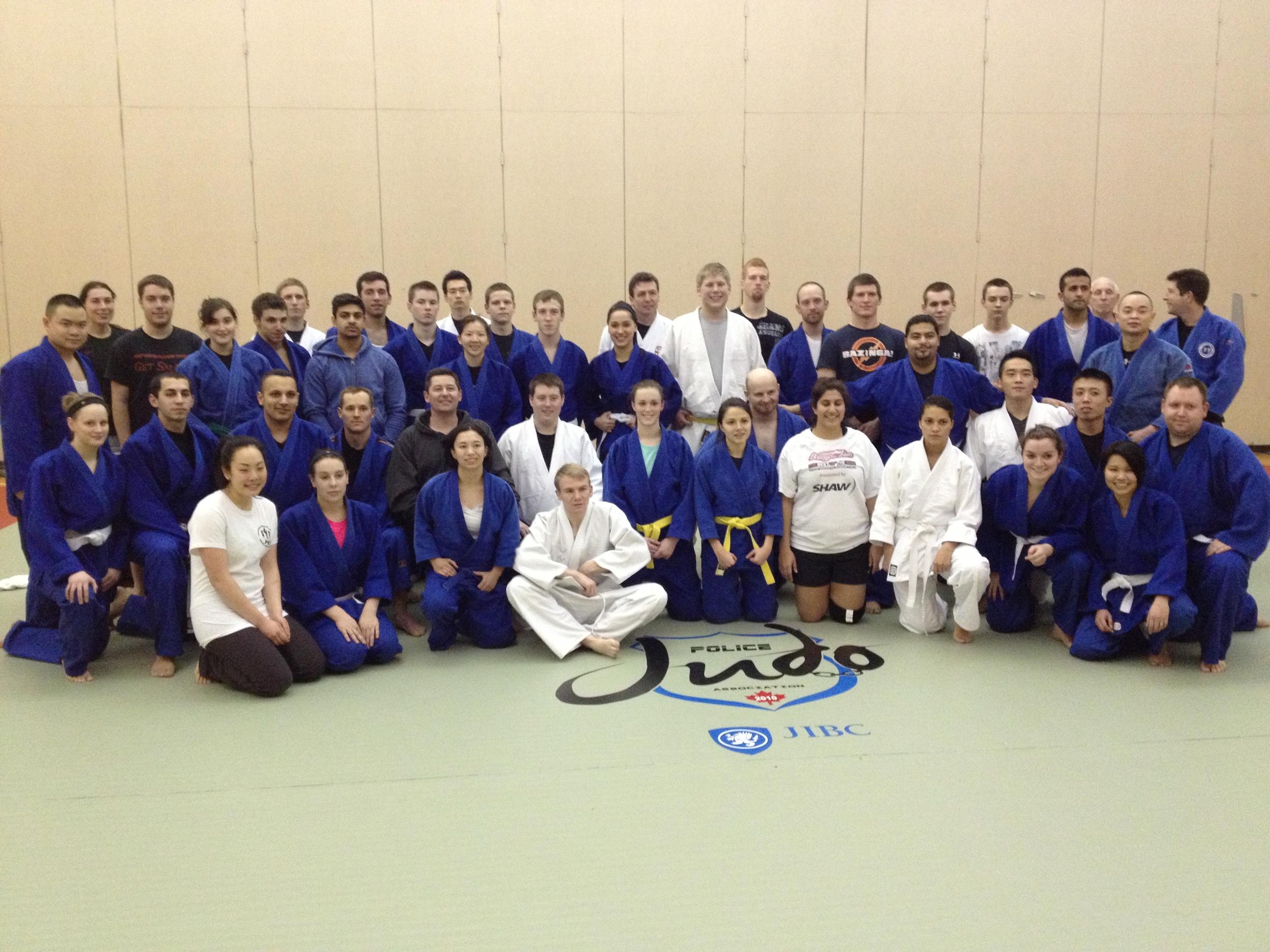 JIBC Police Judo