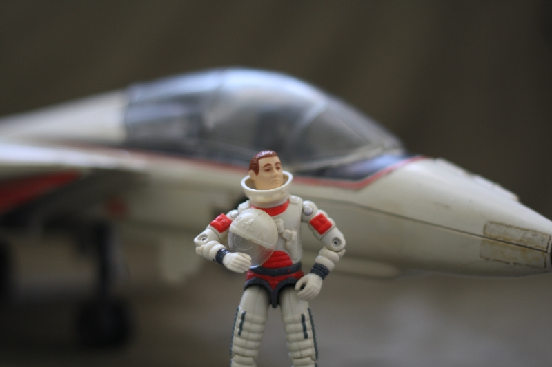 """Captain Brad J. """"Ace"""" Armbruster of the VF-84 Jolly Rogers, reporting for duty."""