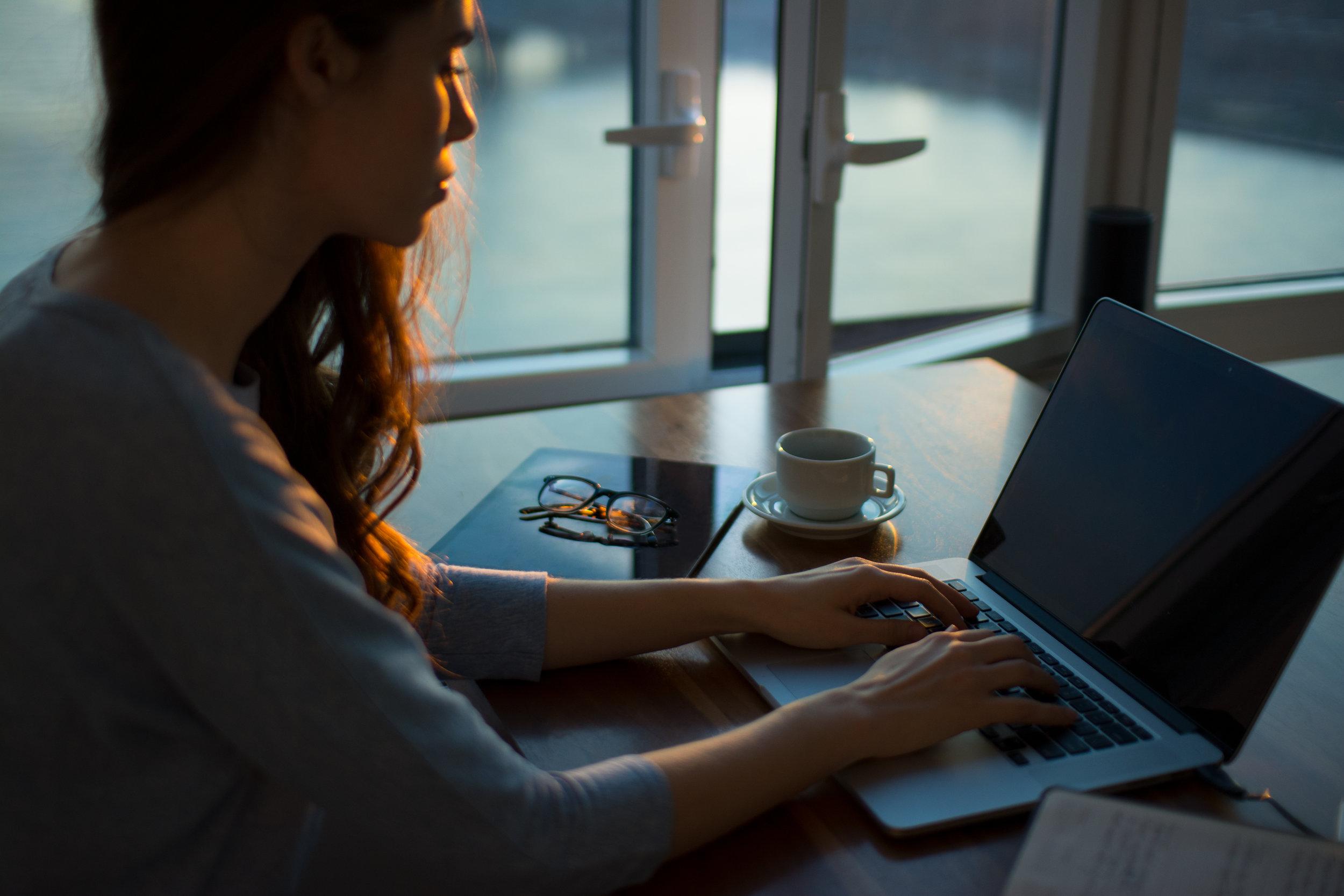 Creative copywriting for business