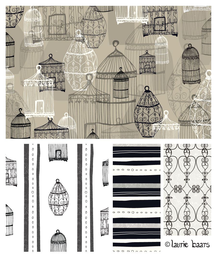 Birdcages Collection - Laurie Baars