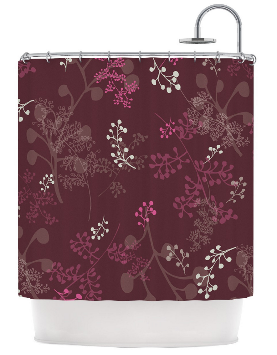 Ferns & Vines shower curtain by Laurie Baars. Available at: http://kessinhouse.com/pages/laurie-baars