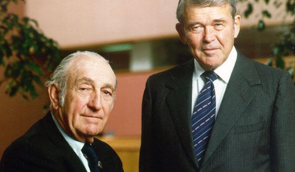 William Hewlett a David Packard