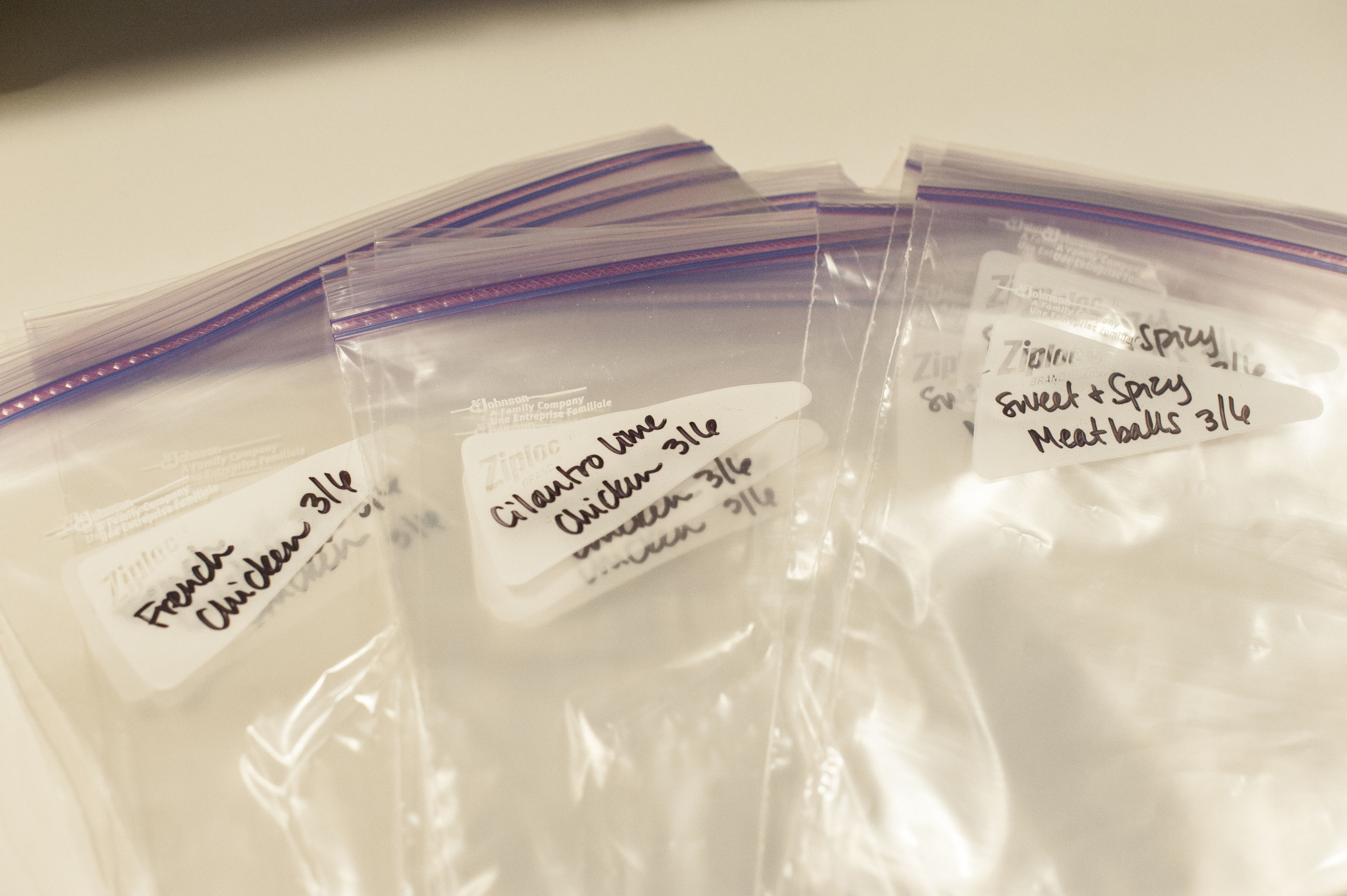 Most crock-pot recipes can be packaged in Ziploc freezer bags. This is one of the easiest ways to do it!