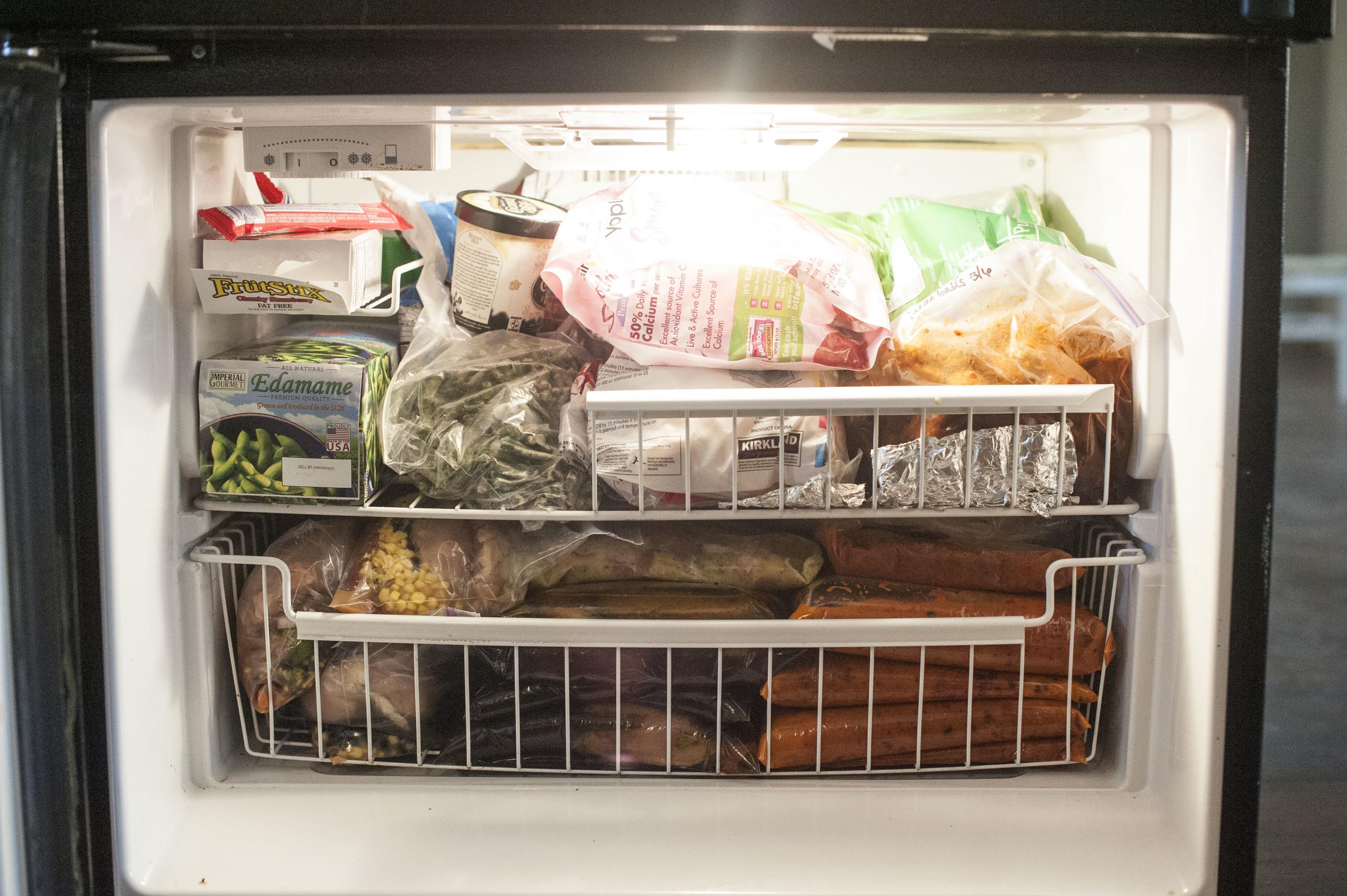 Full freezer = Happy Lissa