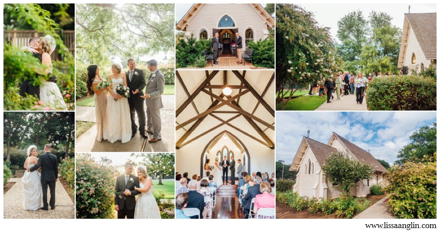 ST. PAUL'S IS PERFECT FOR AN INTIMATE GARDEN WEDDING AND HAS A ROSE GARDEN ADJACENT FOR A SMALL RECEPTION AS WELL.