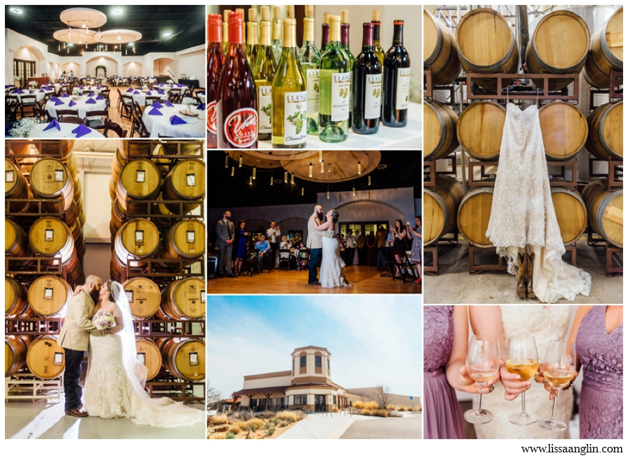 LLANO ESTACADO IS JUST SOUTH OF LUBBOCK AND HAS A GREAT SETUP FOR WEDDINGS WITH AN ADJACENT VINEYARD. I ALSO RATE THIS BRIDE'S ROOM TOP-NOTCH! I LOVE LLANO'S ROSÉ, AND SO WILL YOUR GUESTS.