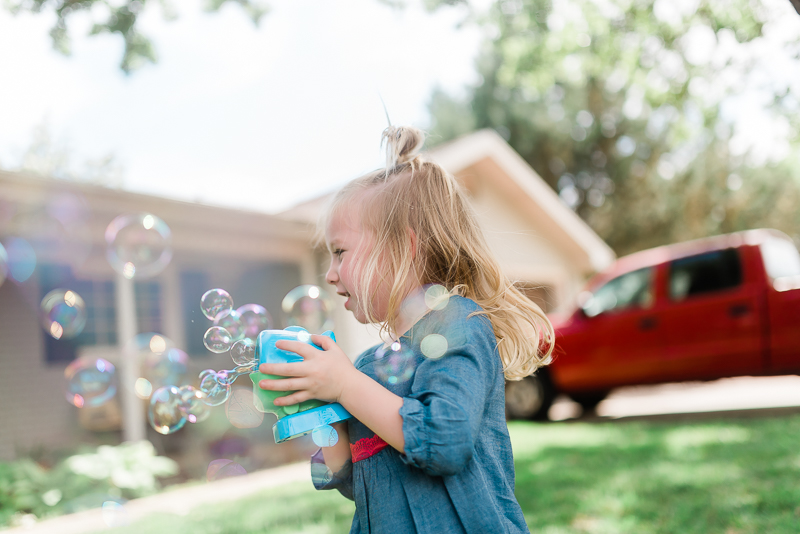 Bubble machines are relatively cheap and great for littles who haven't figured out the wands quite yet.