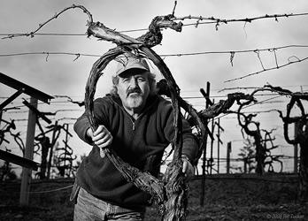Phil  Steinschriber, winemaker at Diamond Creek.