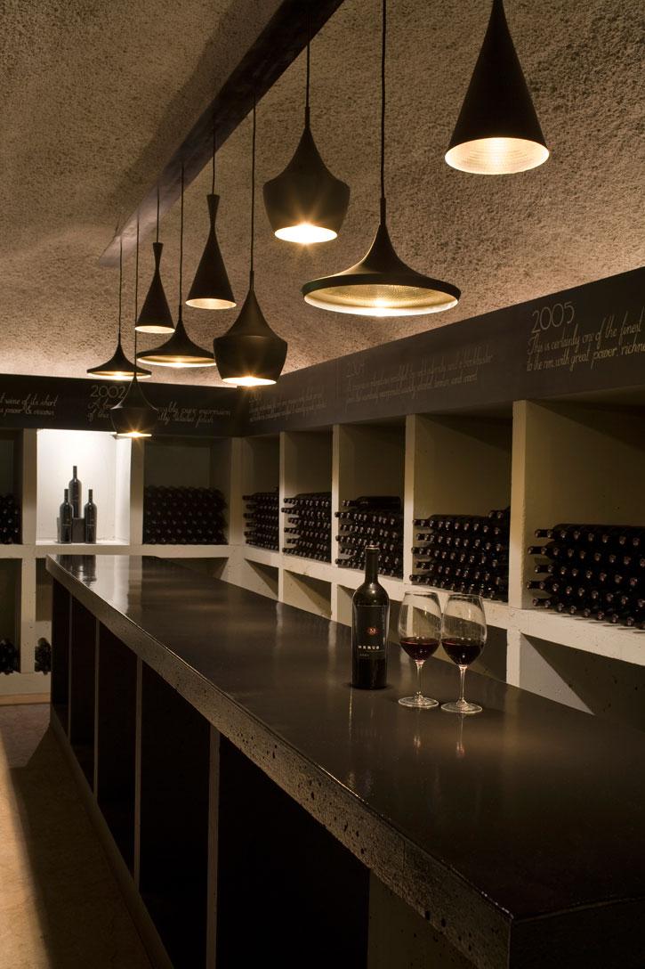 Tasting room at Merus Estate.