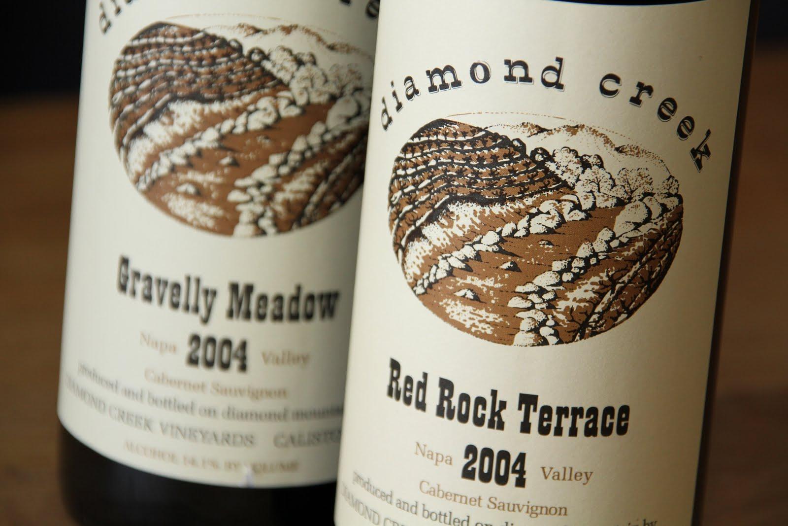 The wines of Diamond Creek