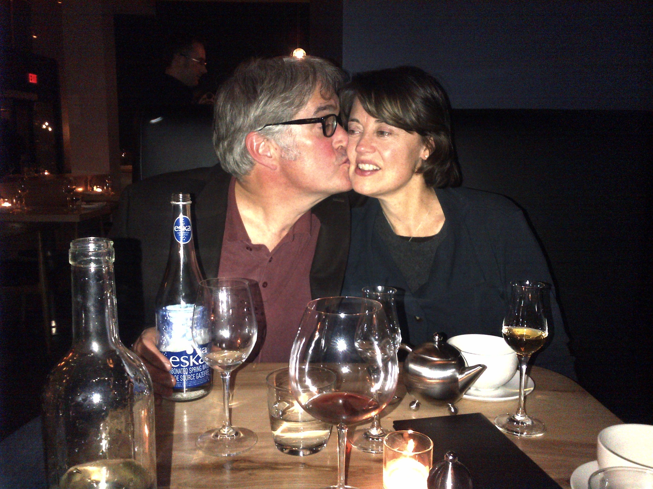 Thomas Bachelder and Mary Delaney: Partners in life and the winery.