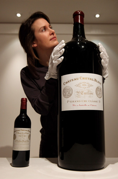 2006 Chateau Cheval Blanc 18L on auction at Sotheby's