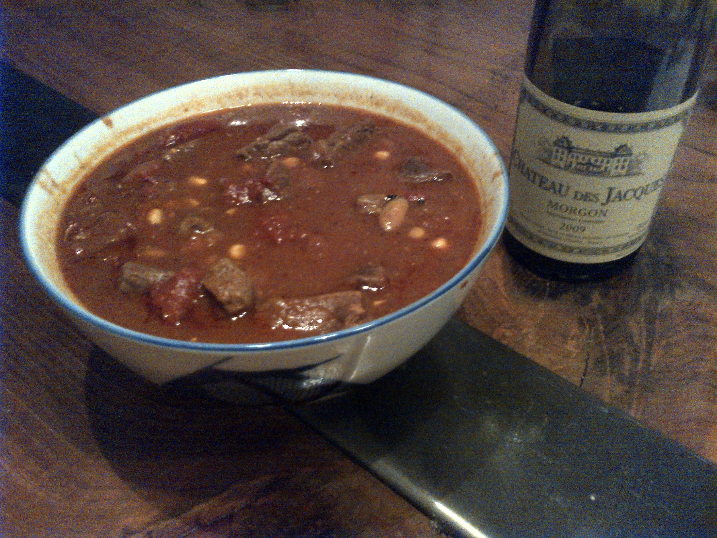 Southern Soul Brunswick Stew from Garden & Gun Magazine perfect with a great Morgon. http://gardenandgun.com/article/brunswick-stew-recipe