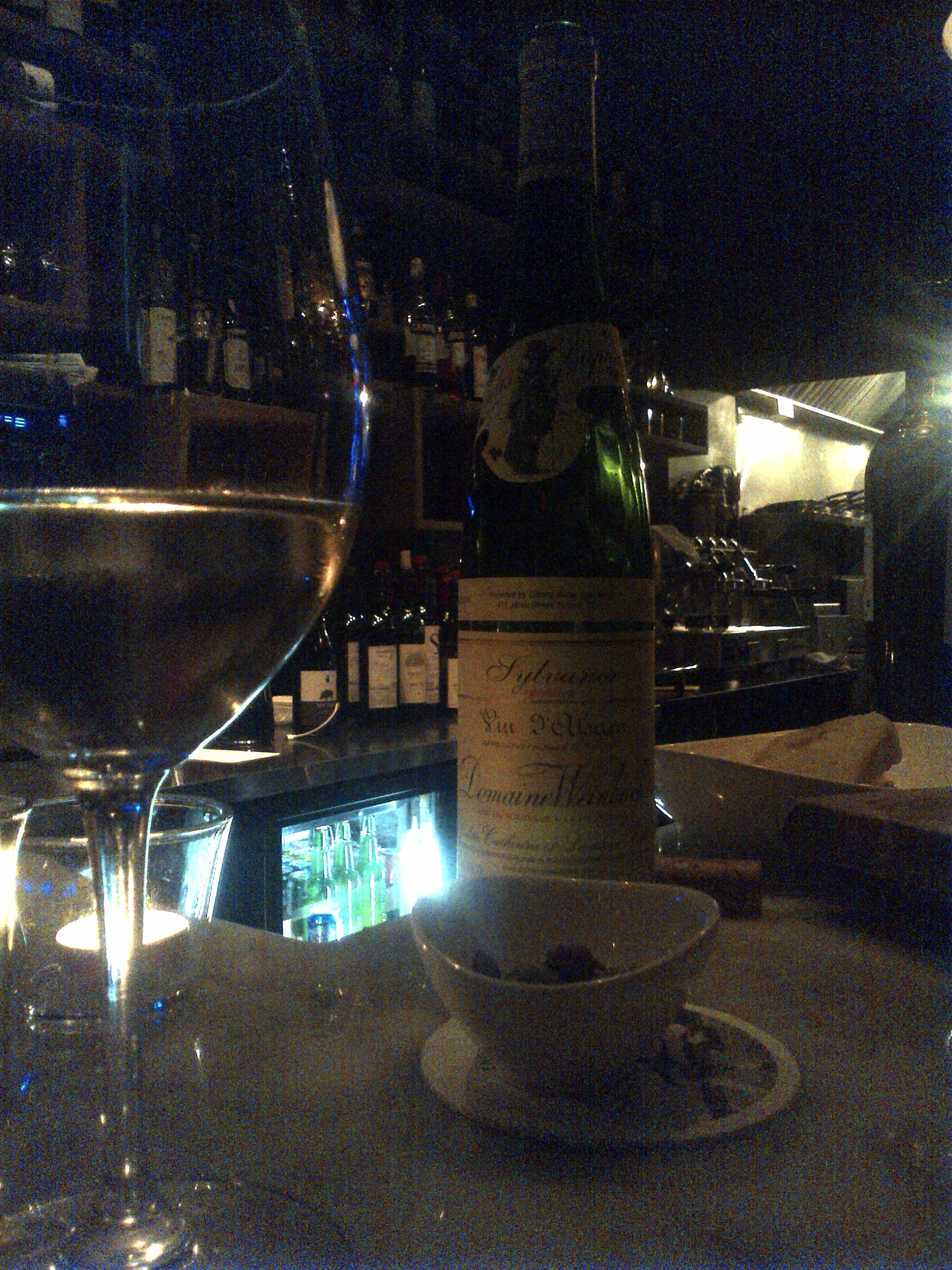 Half price wine night at Enoteca Ascari in Toronto clearly means Domaine Weinbach for everyone!