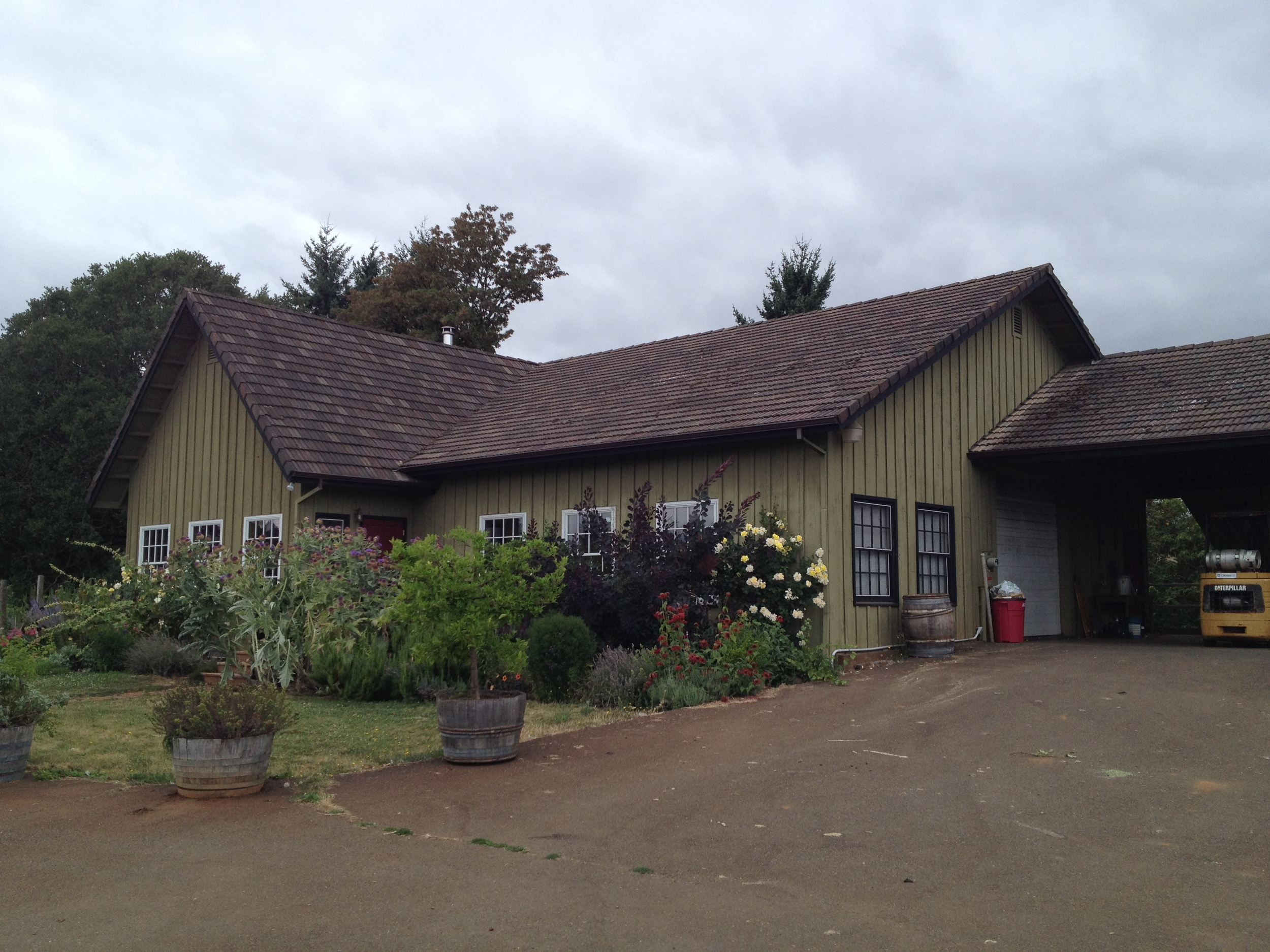 The elusive Cameron Winery in the Dundee Hills.