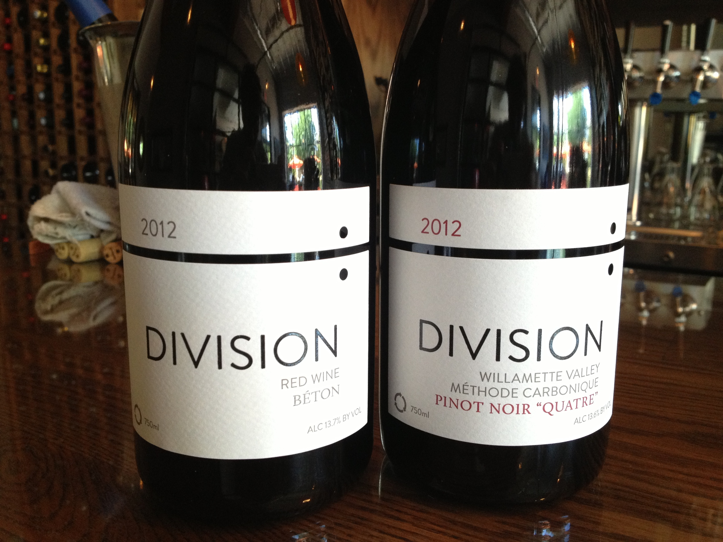 Division's Gamays, Chards and Pinots were tops. He's got a legit, low alcohol, earthy, sauvage style.