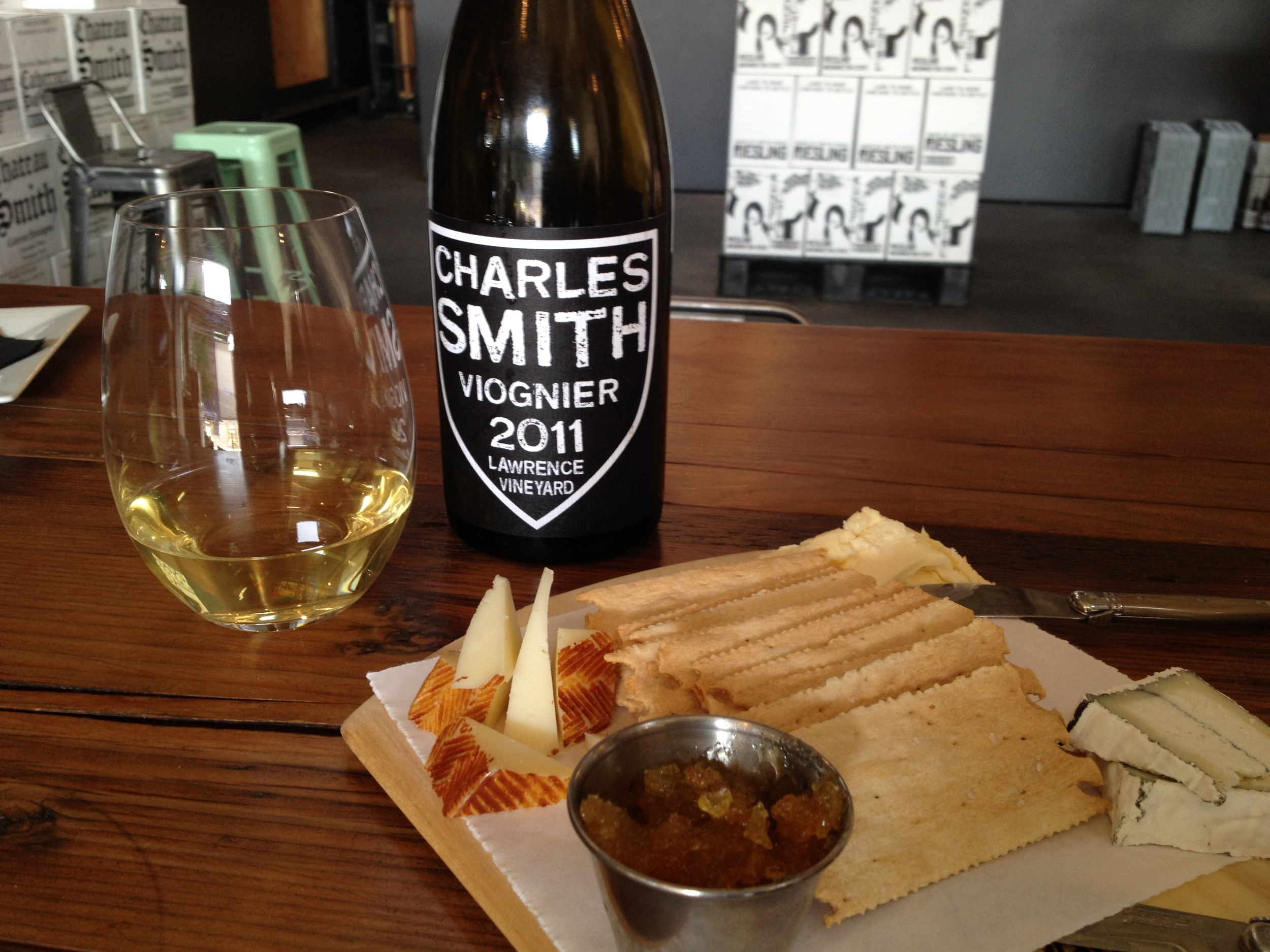 Near-Condrieu-like awesomeness in this WA Viognier. Great cheese partner.