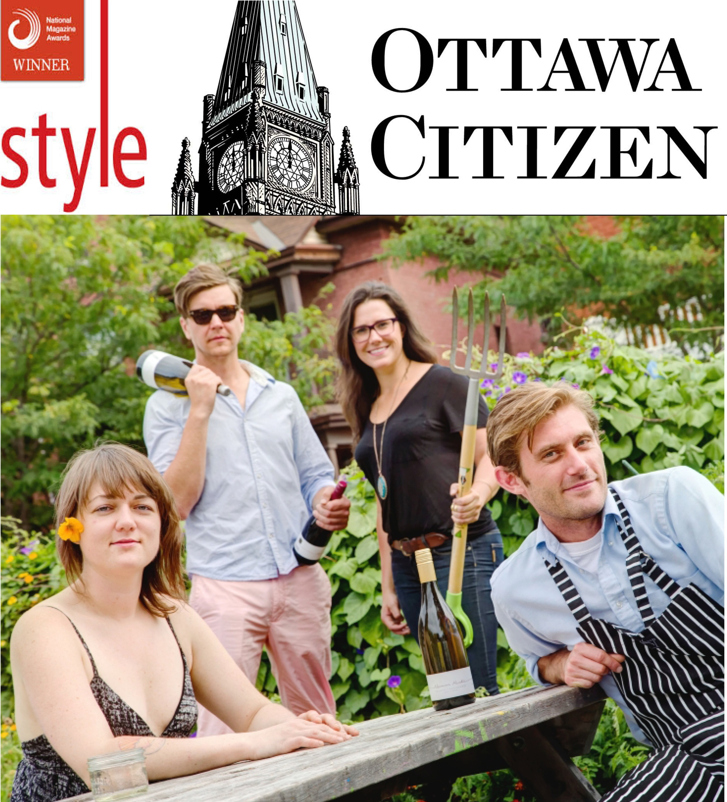 Garden of Eatin' - Ottawa Citizen, Sept 5, 2013