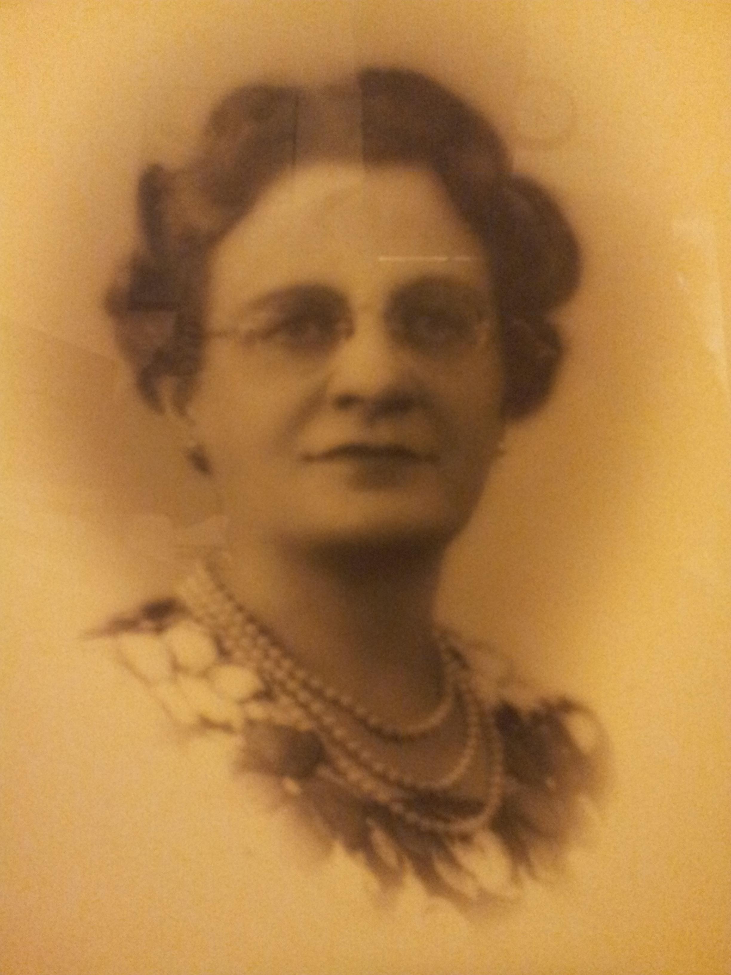 Dr. Isabelle MacDonald, founder of Albertson Memorial Church