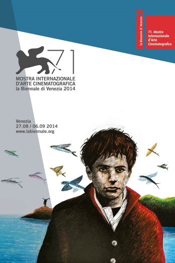 Official poster for the 2014 Venice Film Festival