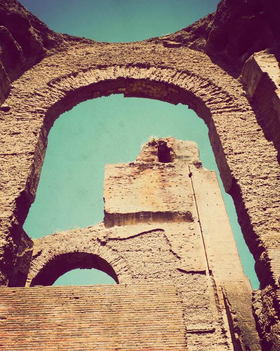 Ruins of a Roman bath