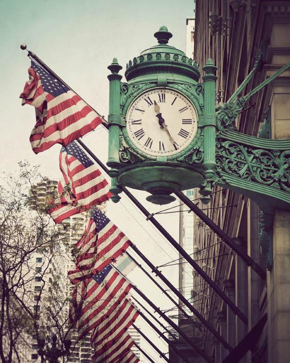 Clock on State Street