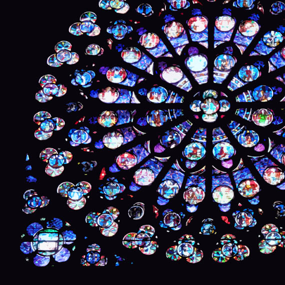 Abstract interpretation of the rose window
